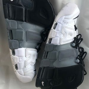 Black White Gray Nike Air Size 10.5 Scottie Pippin